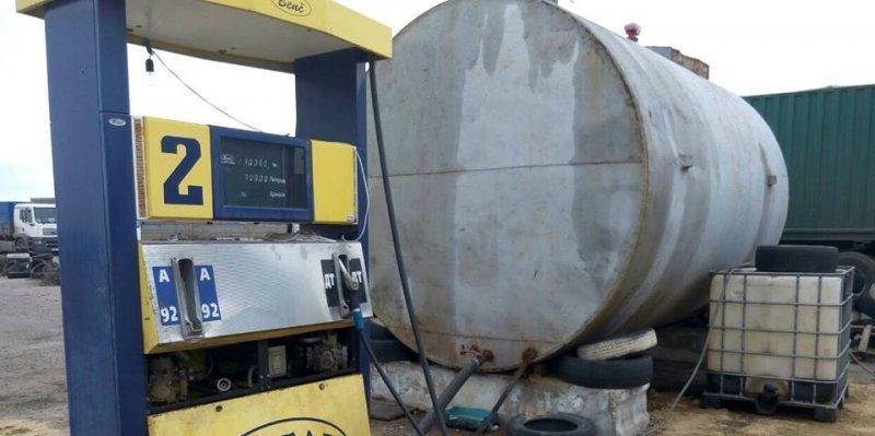 В Одессе обнаружили заправки с «левым» топливом