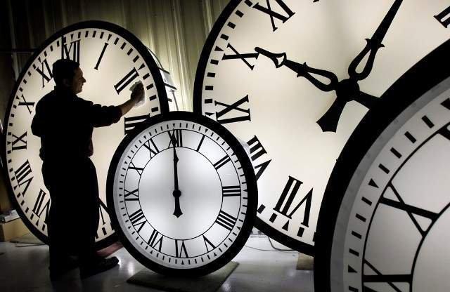 Не забудьте перевести часы!