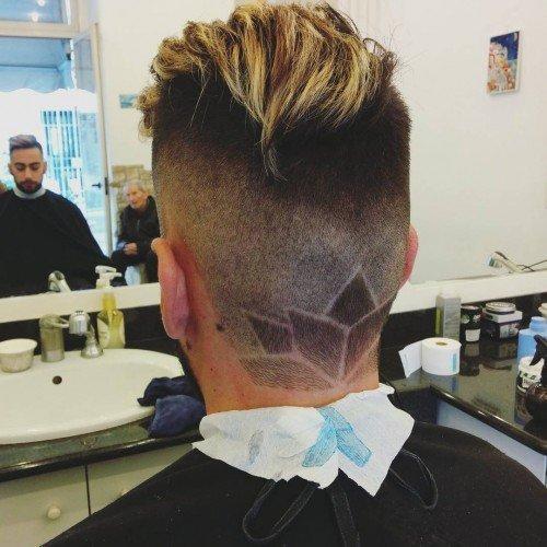 О стильных причёсках для мужчин
