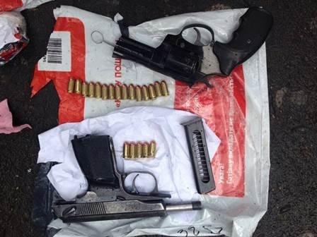 Идея пересылать оружие по почте оказалась неудачной для одессита (ФОТО)
