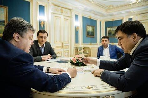 Стали известны результаты встречи Порошенко и Саакашвили