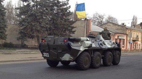 Военная техника и спецназ ВМС ограничат движение в Одессе