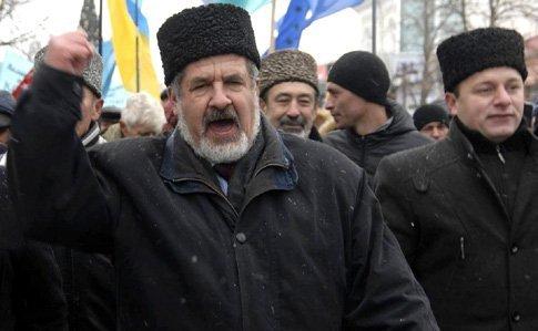 Запрещенный в Крыму Меджлис, переедет в Киев