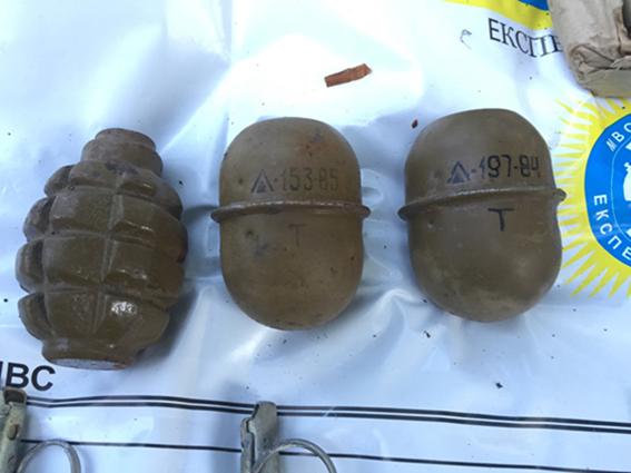 Перед 2 мая в Одессе обнаружили полиэтиленовые пакеты с боеприпасами (ФОТО)