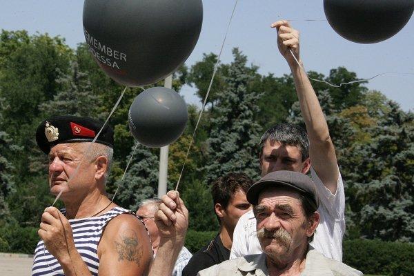 Одесских коммунальщиков сгоняют на Куликово поле?