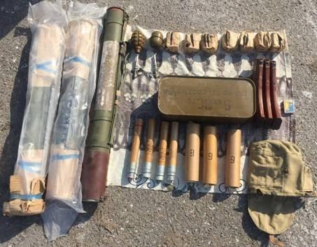 На окраине Одессы нашли очередной тайник с арсеналом оружия на целый взвод (ФОТО)