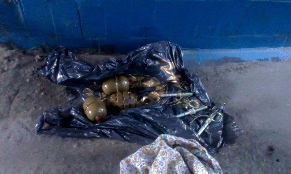 В подземном переходе обнаружили гранаты (ФОТО)