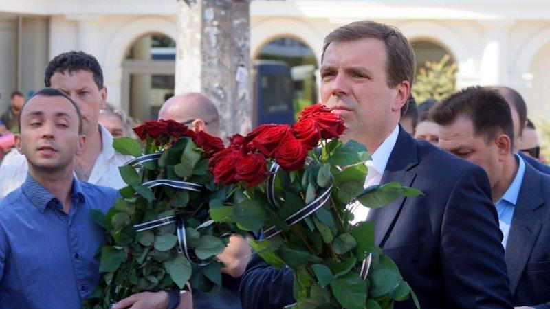 Одесского нардепа с позором выгнали с акции на Куликовом поле (ВИДЕО)