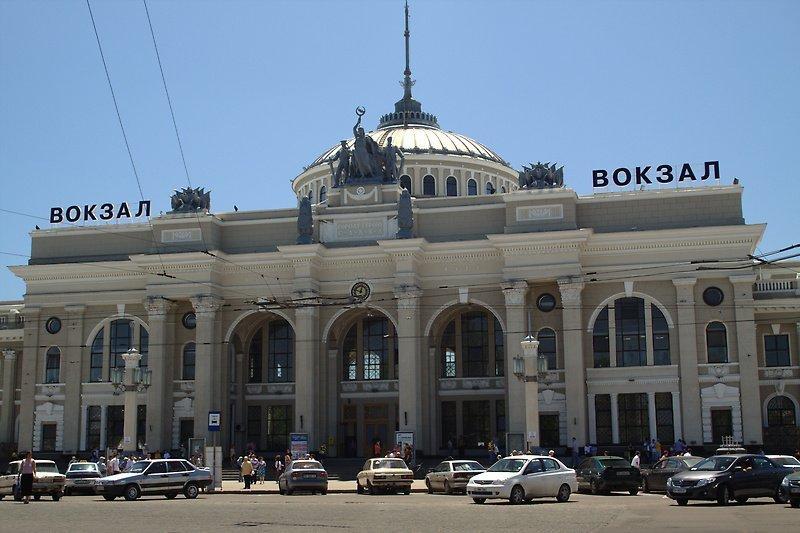 В Одессе оцепили железнодорожный вокзал