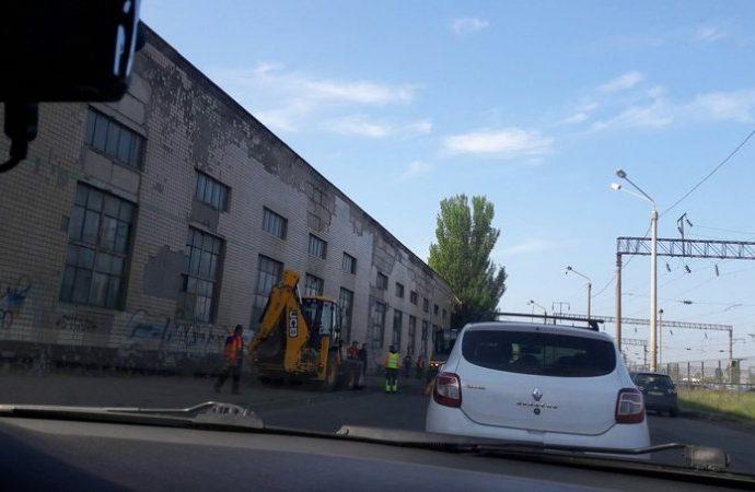 Жители поселка Котовского не могут добраться на работу