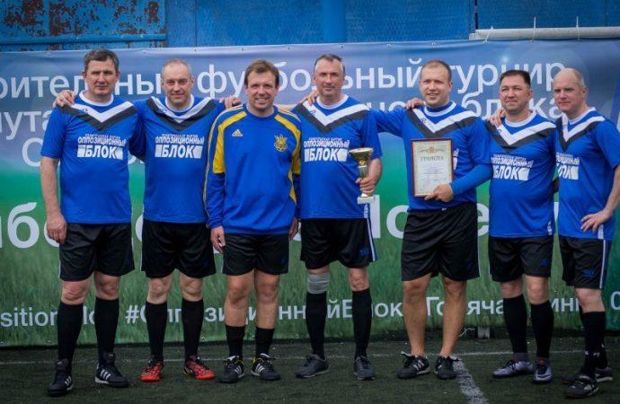 «Спасибо деду за Победу!» – в Одессе прошел благотворительный футбольный турнир