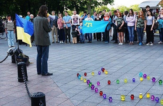 На Потемкинской лестнице появится крымско-татарский символ