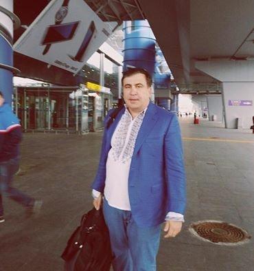 Одесские грузины красуются в вышиванках (ФОТО)