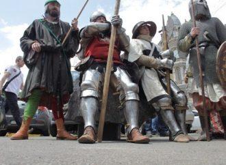 Дерибасовская погрузилась в средневековье (ФОТО)