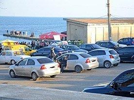 В Одессе начинают работу прибрежные стоянки