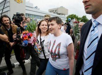 На фасаде здания Одесской ОГА вывесят портрет Надежды Савченко