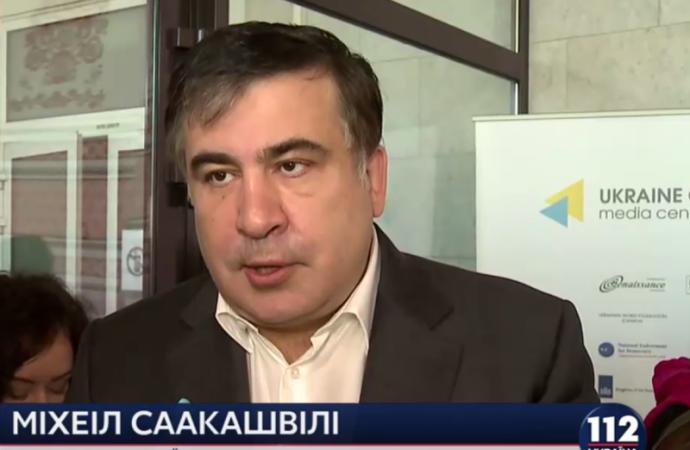 Саакашвили: Луценко подставили, но он не должен поддаваться соблазну оправдать то, что является дешевой заказухой