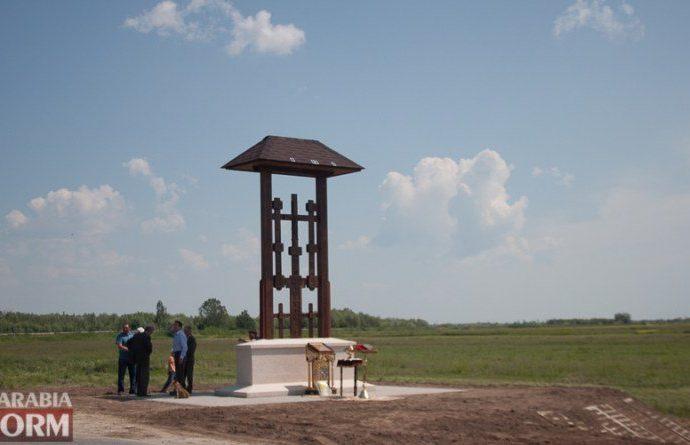 В Одесской области появился поклонный крест на солнечных батареях