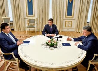 Порошенко указал, чем заняться Саакашвили