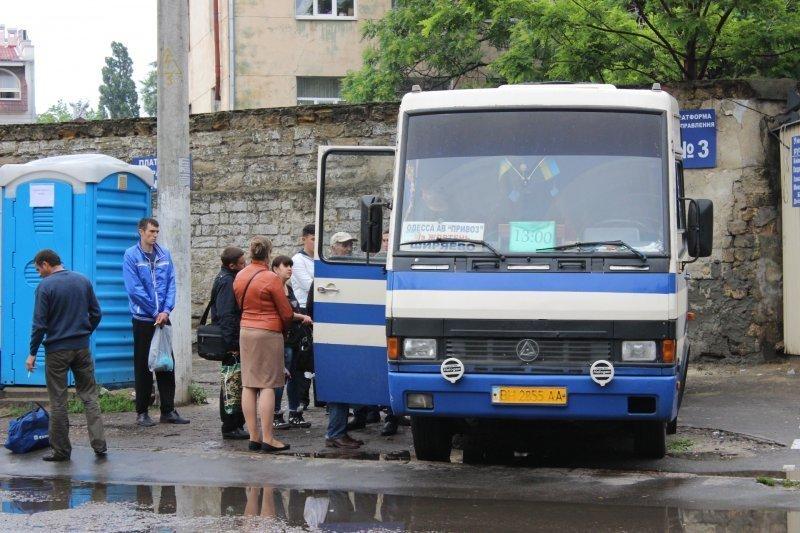 «Сбежавшая остановка»: одесситы возмущены обустройством автостанции в жилой зоне исторического центра