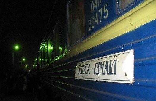 Поезд «Одесса-Измаил» ходит чаще