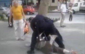 Патрульная полиция: «избитый» дедушка разыграл цирк (ВИДЕО)