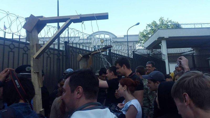 """Россиянам не понравилась """"грязная акция"""" в Одессе"""