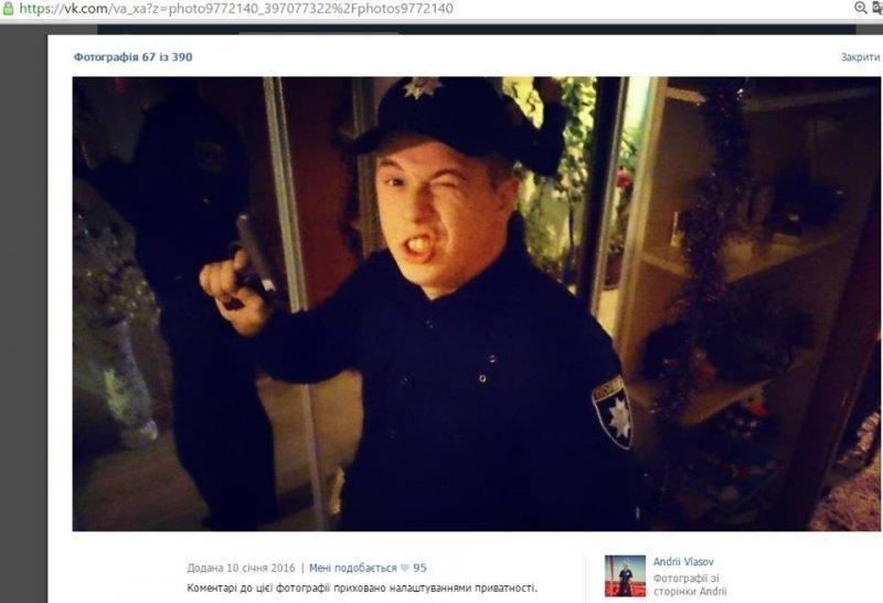 Полицейские отреклись от патрульного-сепаратиста