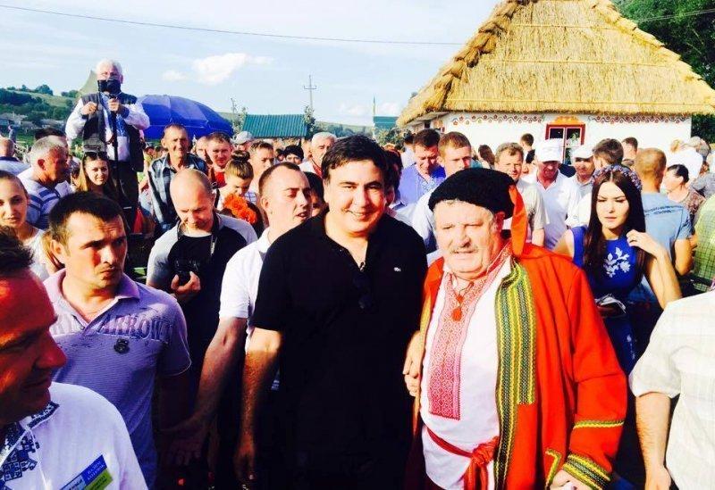 Саакашвили допускает, что Украину могут «слить»