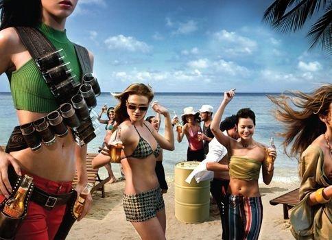 Модная одежда для пляжных вечеринок