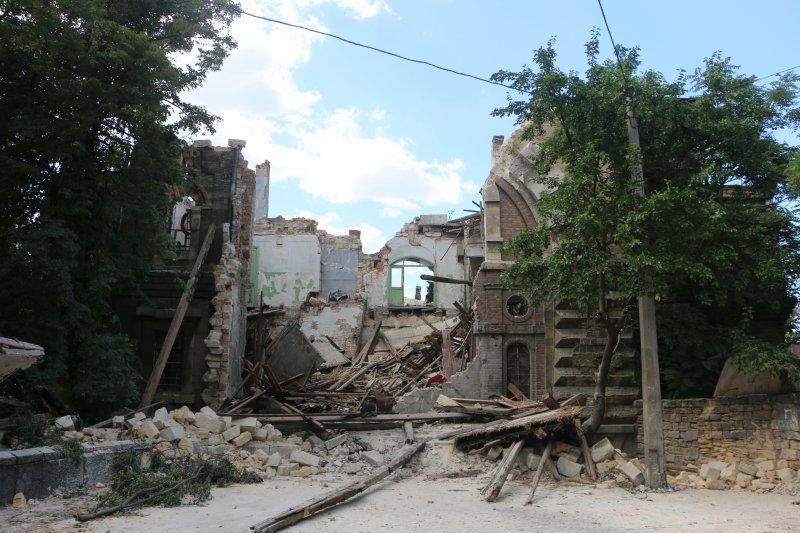 Масонский дом: что упало – то пропало?