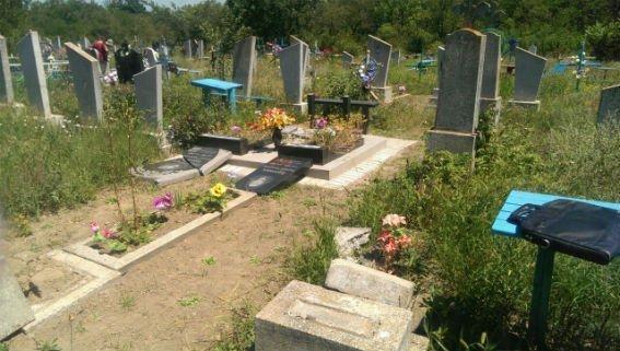 Новые подробности погрома на кладбище
