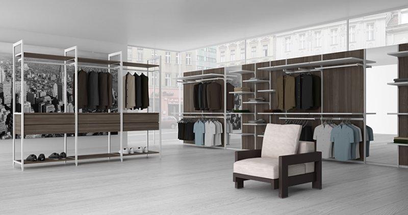 Содержим дом в порядке: обустройство гардеробной системы