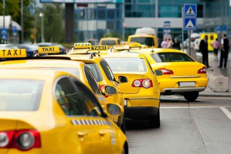 Такси. От аэропорта до вокзала