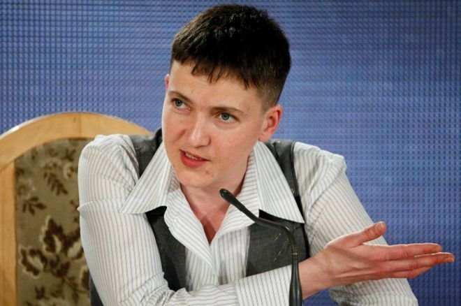 Сегодня Надежда Савченко будет отвечать на ваши вопросы
