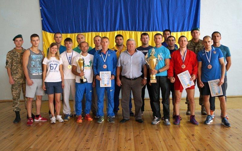 Самбисты-пограничники заняли в Одессе 2-е место (ФОТО)