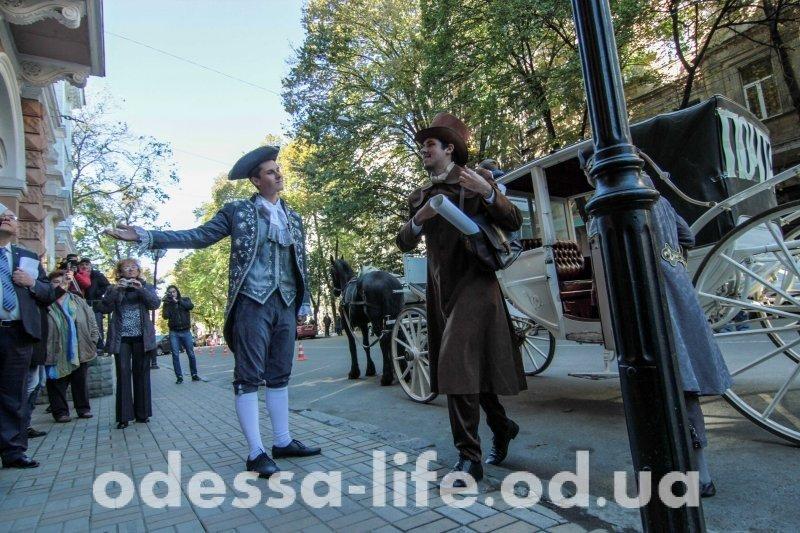От кареты до электроники: о будущем «Укрпочты» рассказали на юбилее в Одессе (ФОТО)