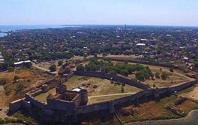 Полет над Аккерманской крепостью (ВИДЕО)