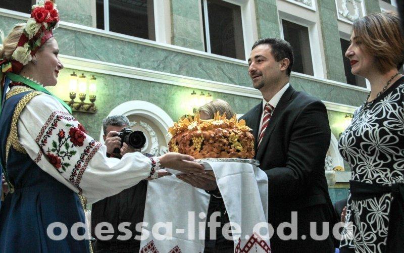 На Садовой отмечали юбилей Одесской почты (ФОТО)