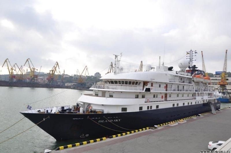 Одессу снова посетил лайнер Island Sky