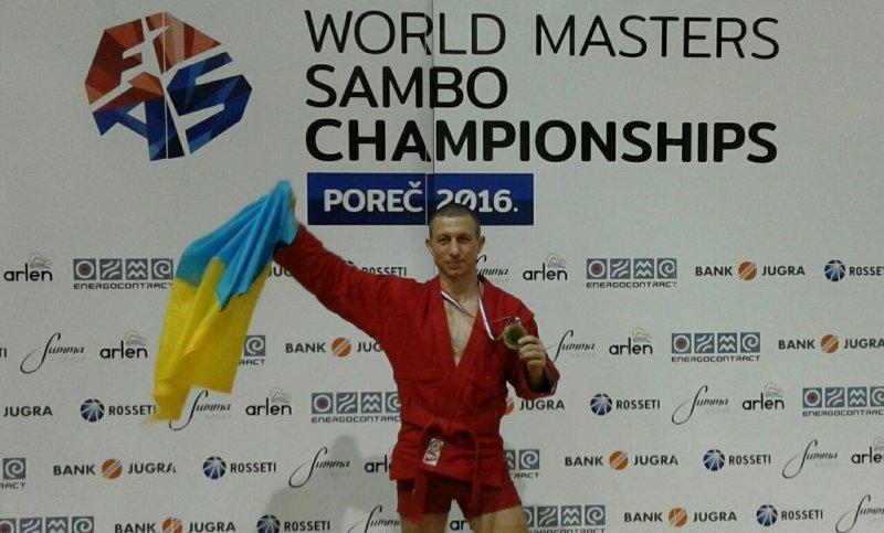 Пограничник из Одесского отряда стал одним из лучших самбистов мира