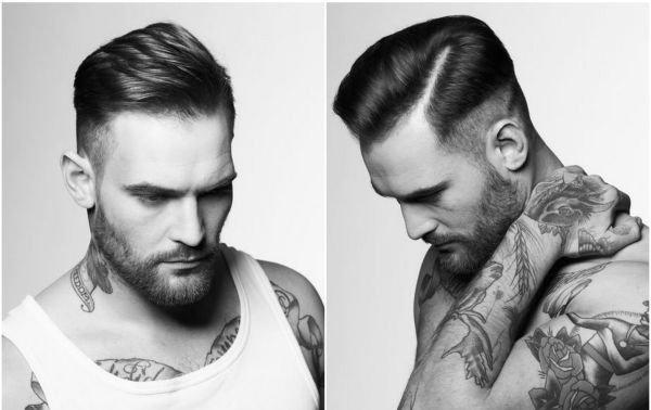 Стильные мужские прически для коротких волос