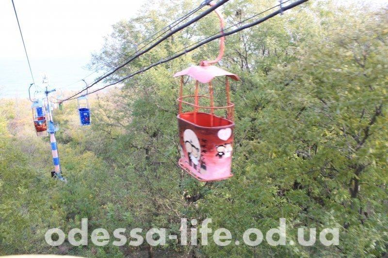 Одесская осень из кабинки канатной дороги (ФОТОРЕПОРТАЖ)
