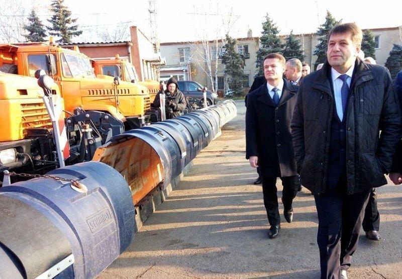 Вице-премьер раскритиковал готовность техники к зиме в Одесской области