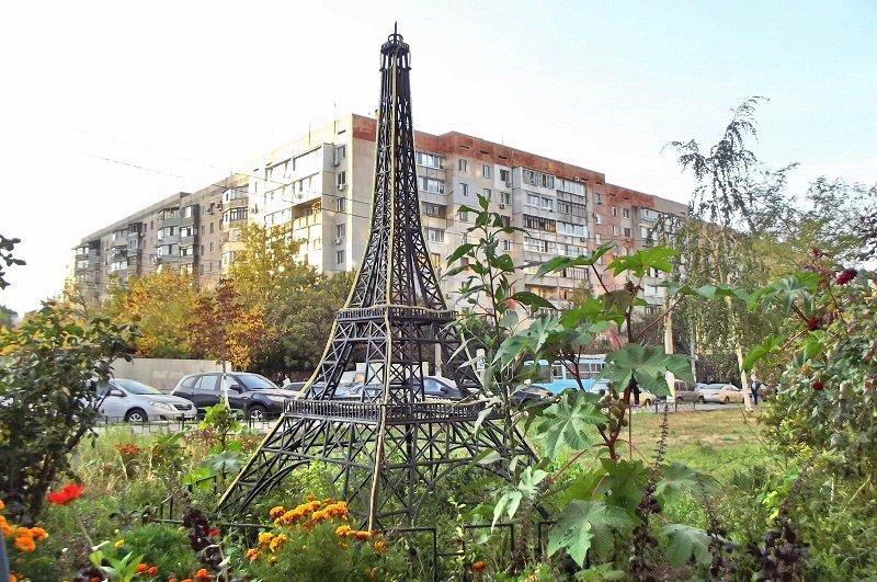 Выяснилось сколько в Одессе Эйфелевых башен (ФОТО)