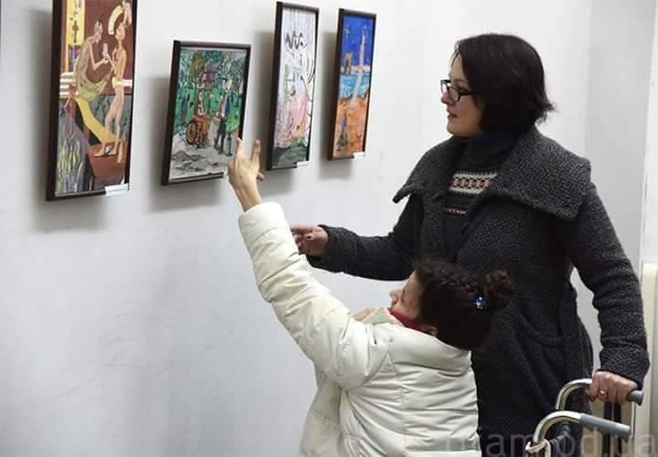 Посетите выставку особенной одесской художницы (ФОТО)