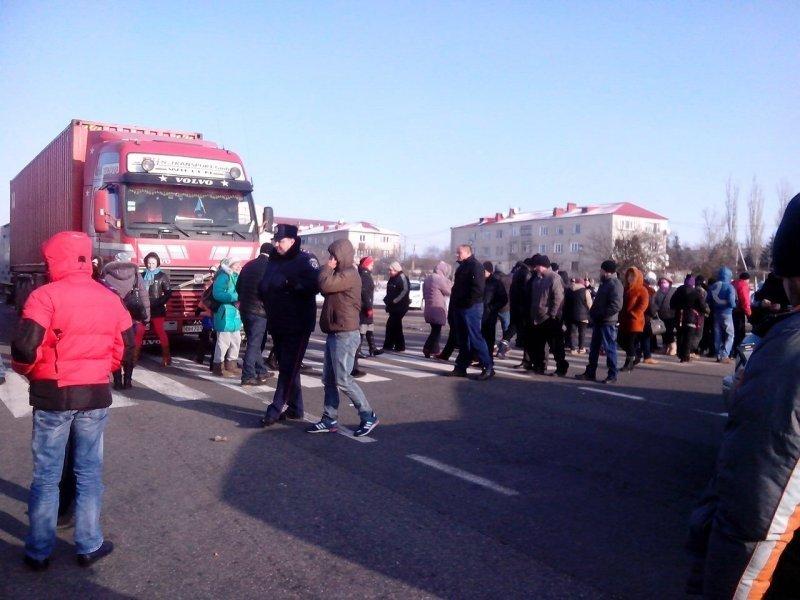Протестующие перекроют основные дороги Украины