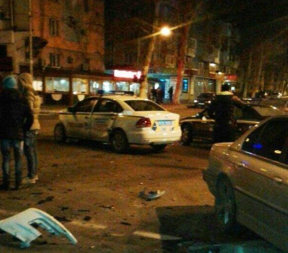 В Одесской области полиция попала в ДТП
