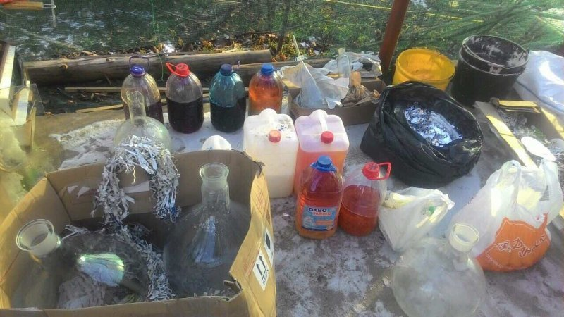 В Одесской области нашли нарколабораторию (ФОТО)