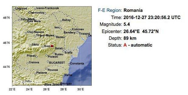 Ночное землетрясение в Одессе взорвало социальные сети